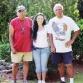"""L2R: Keith Brown, Coni Dubois & Chief """"Sun Rise"""" Byron Brown"""