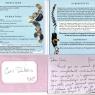 Glenda Luck Album Manisses Cover w note to Coni Dubois 6-24-14