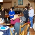 5/13/13 Research talk hosted at Hewitt Home in Hale Michigan R2L starting with me, Rona Sullivan, Diane Allen, Ron Allen, Terry Allen, Jerry Hewitt, Polly Goodwin & my Husband Jay Dubois - beside me is Mary Hewitt (Photo taken by Jim Goodwin)