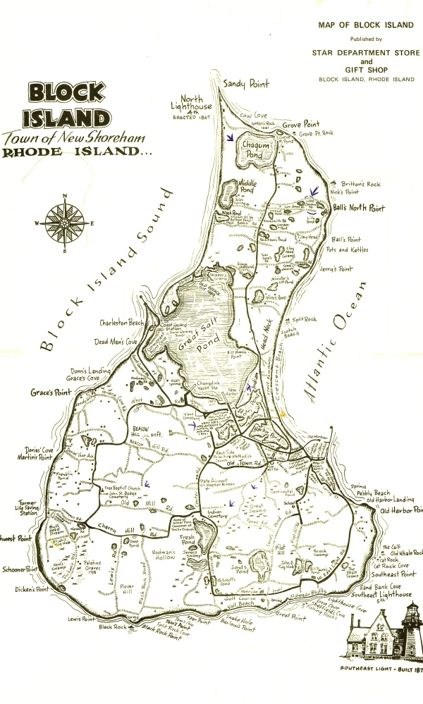 On Block Island are 2 ponds - one is known as Sachem Chagum Pond and the other is lil Choggin pond which I believe is where Great James and Janey Chagum had their home stead