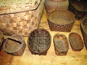 4/11/10 Barkhamsted Lighthouse Baskets made around 1817 - Photo taken by Coni Dubois