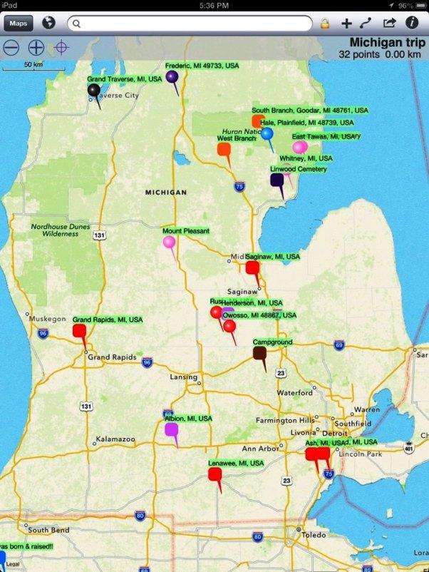 May 2013 Michigan Trip