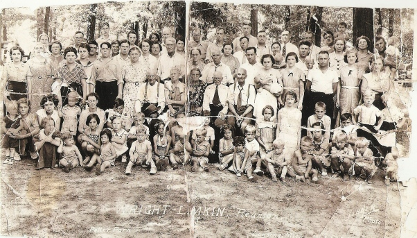 07/12/1936 Wright - Lamkin Reunion at Potter Park in Lansing Michigan