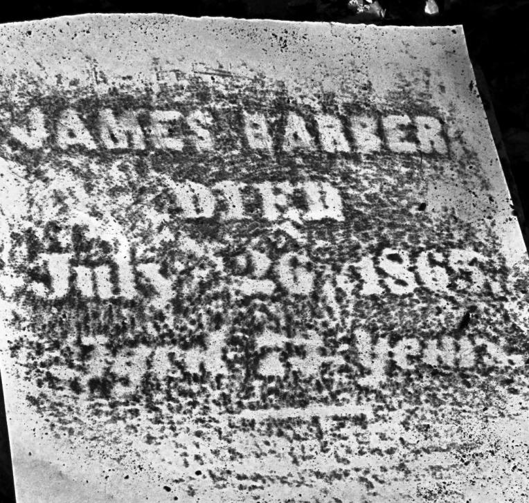 James Barber Tombstone