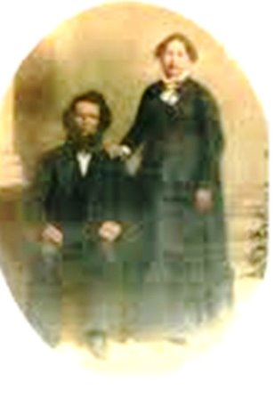 Alan Porter & Clorinda (Short, Barber) Porter - Only photo I have and not a very good copy - would like to get a better copy if anyone has it
