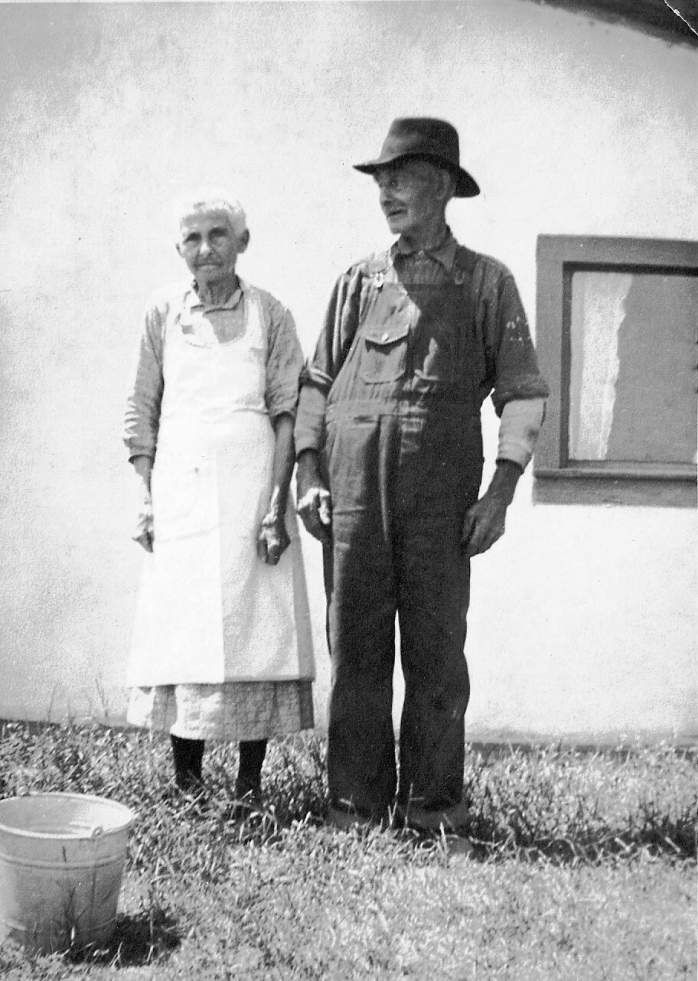 Unknown date: William and Maryette Barber