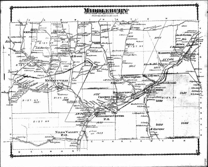 1875 ZP Allen land  - Tioga PA