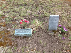 William H Barber Tombstone - Maryette's tombstone is no longer