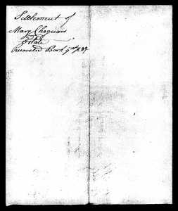 Connecticut, Wills and Probate Records, 1609-1999 for Mary Chogum - pg 7