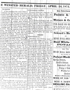 Winsted Herald - Apr 24, 1874