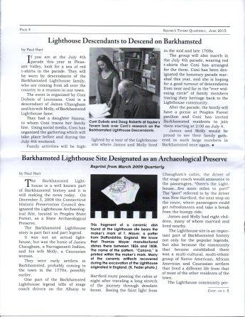 June 2015 - Pg 4 Squires Tavern Quarterly - BHS
