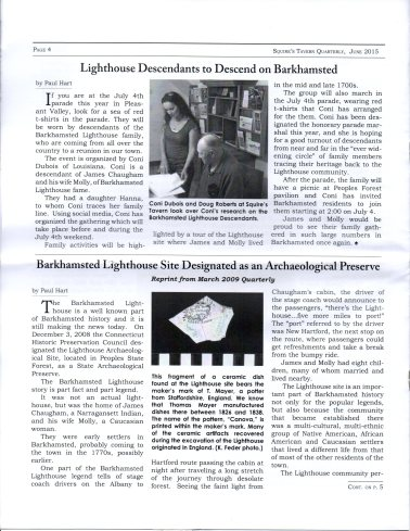 June 2015 - Pg 4 Squires Tavern Quarterly - BHS