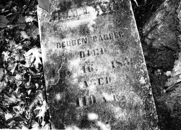 Reuben Barber's Tombstone