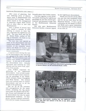 Sept 2015 - Pg 4 Squires Tavern Quarterly - BHS