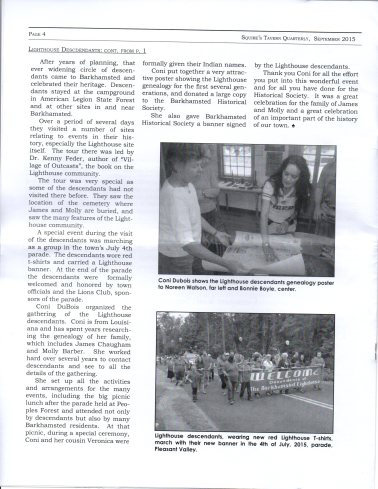 Sept 2015 - Pg 4 Squires Tavern Quarterly - BHS
