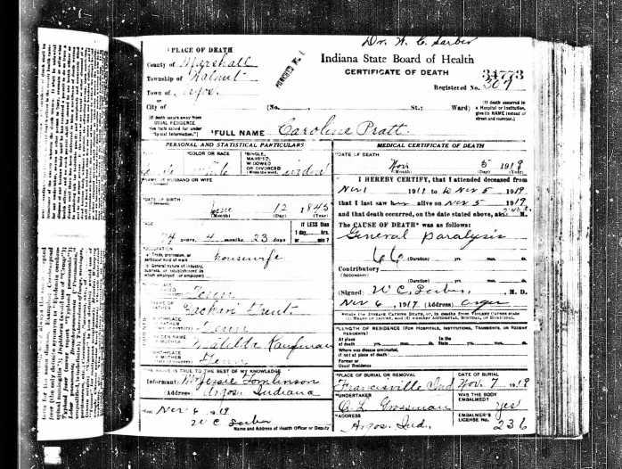 caroline-pratt-death-certificate