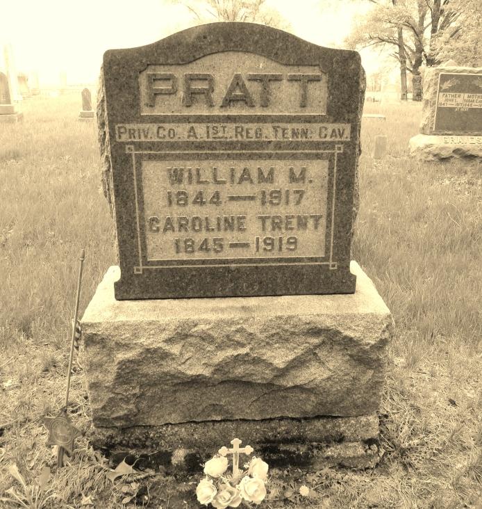 william-m-caroline-trent-pratt-tombstone